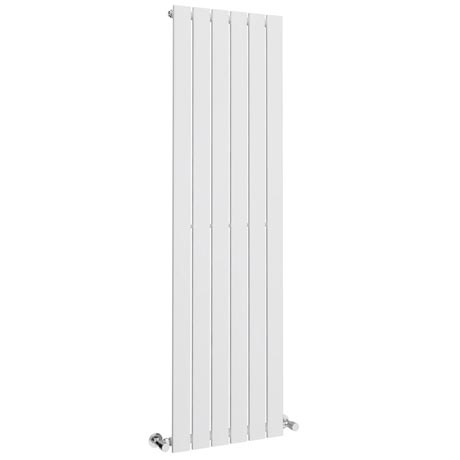 Urban Vertical Radiator - White - Single Panel (1600mm High)