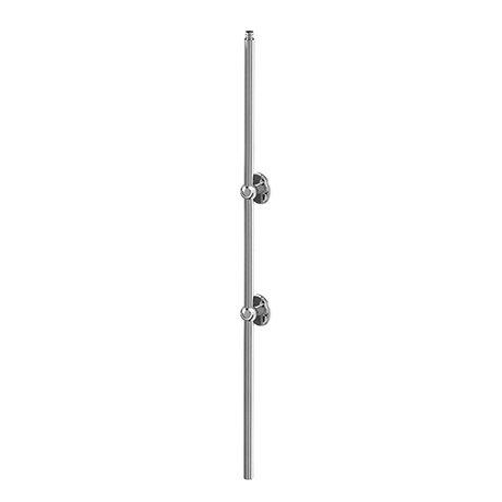 Burlington Extended Vertical Riser - Chrome - V22