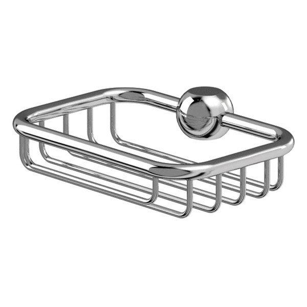 Burlington Soap Basket for Vertical Riser
