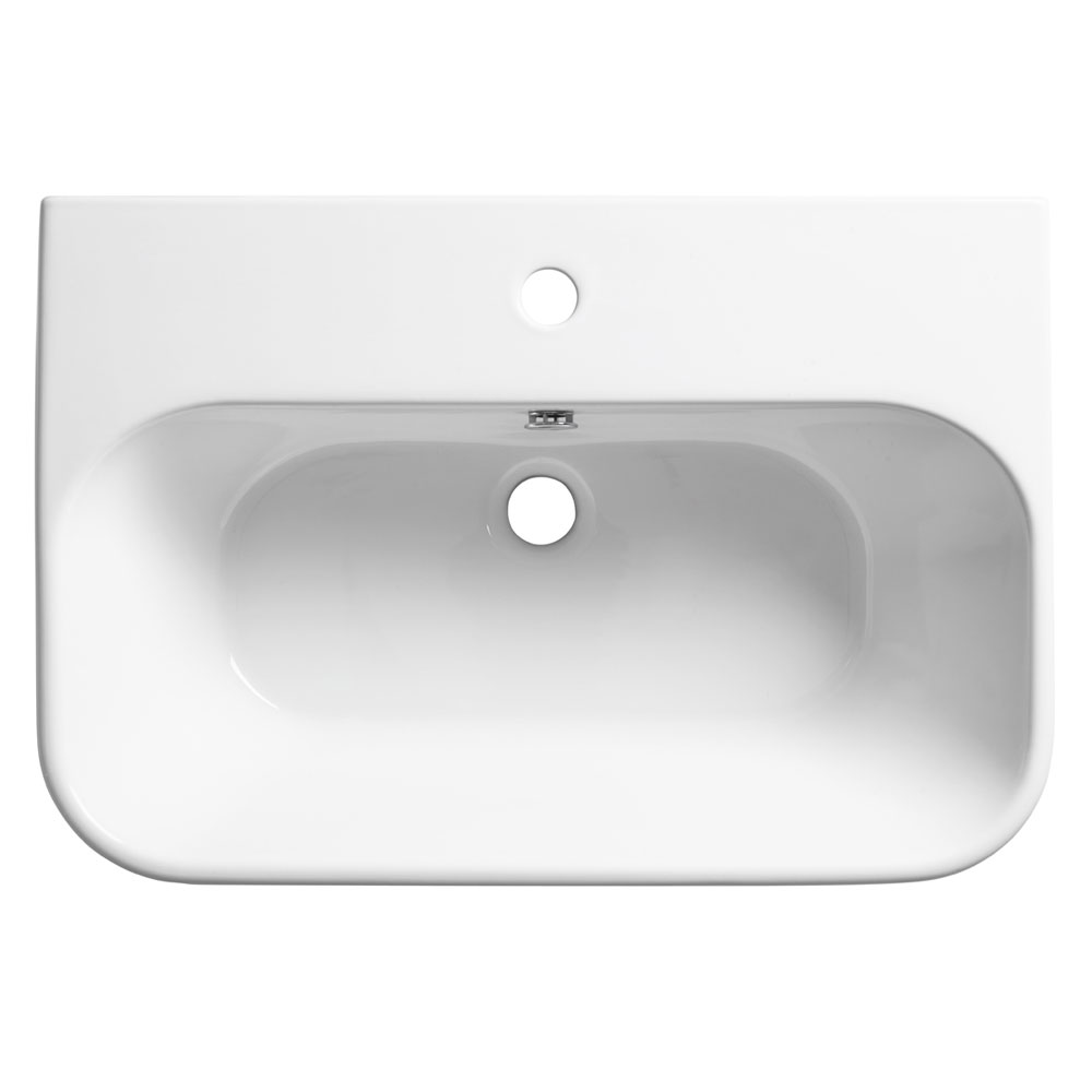 Roper Rhodes Version 650mm Wall Mounted Basin - V65SB profile large image view 1