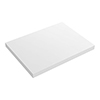 Venice Floating Basin Shelf (Gloss White - 600mm Wide) profile small image view 1