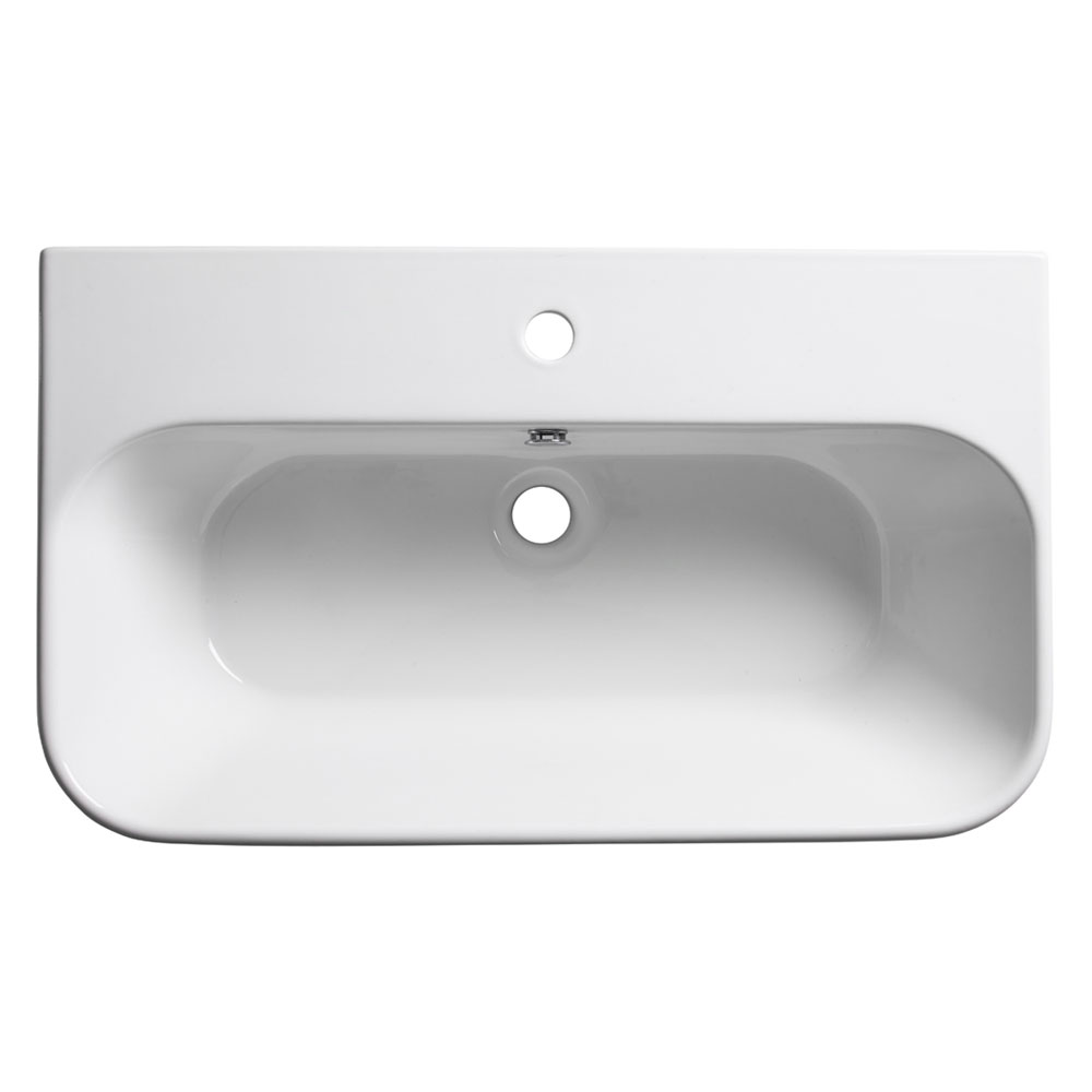Roper Rhodes Version 750mm Wall Mounted Basin - V75SB profile large image view 1