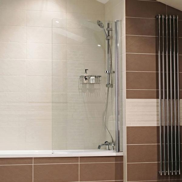 Roman - Lumin8 Frameless Bath Screen - V8B13S Large Image