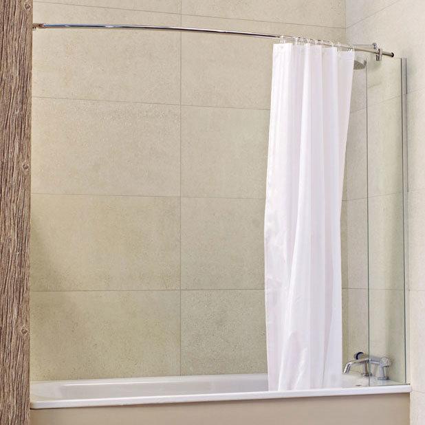 Roman Lumin8 Mini Fixed Bath Screen Large Image