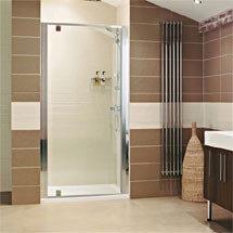Roman - Lumin8 Pivot Shower Door - Various Size Options Medium Image