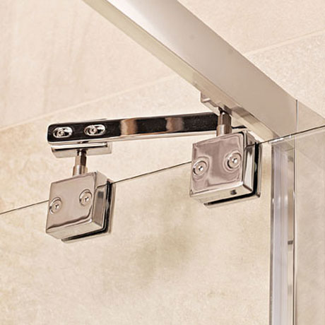 Roman Lumin8 Inward-Opening Shower Door - Various Size Options In Bathroom Large Image