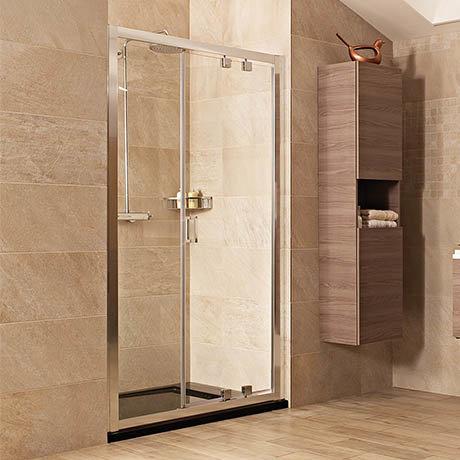 Roman Lumin8 Inward-Opening Shower Door - Various Size Options