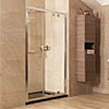 Roman Lumin8 Inward-Opening Shower Door - Various Size Options profile small image view 1