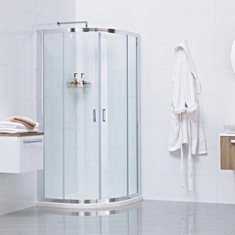 Roman - Lumin8 Two Door Quadrant Shower Enclosure - 2 Size Options