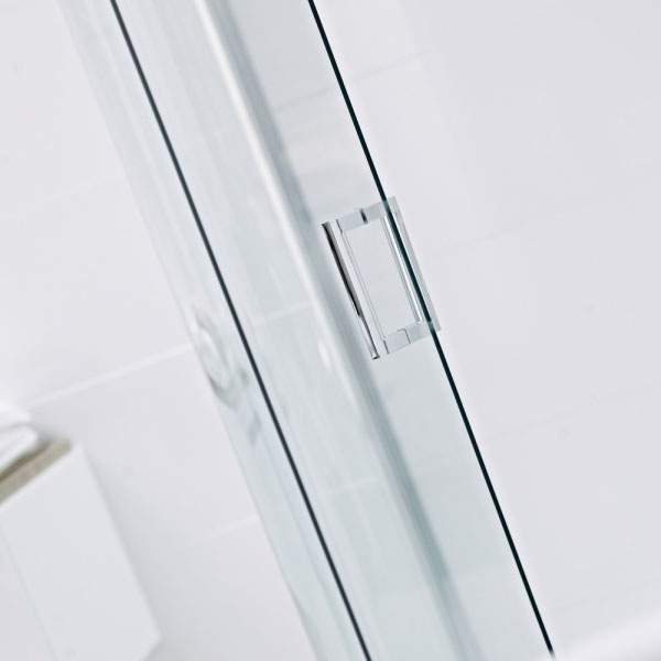Roman - Lumin8 One Door Quadrant Shower Enclosure - 2 Size Options profile large image view 2