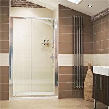 Roman - Lumin8 Sliding Shower Door - Various Size Options Medium Image