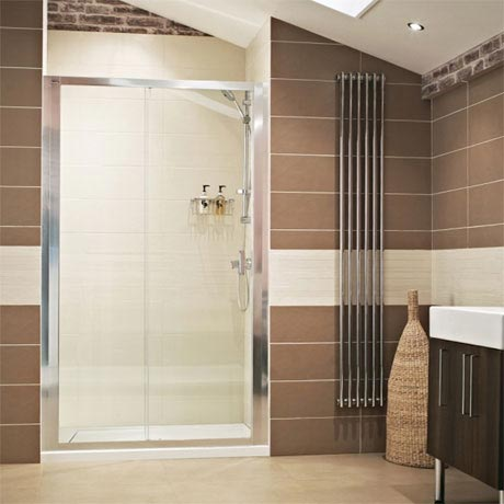Roman - Lumin8 Sliding Shower Door - Various Size Options