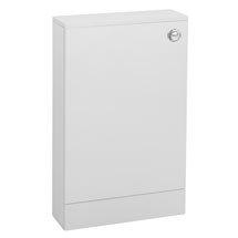 Valencia Mini Gloss White WC Unit + Cistern (Depth 155mm) Medium Image