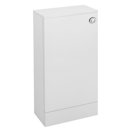 Valencia Mini SQ White Gloss WC Unit + Cistern (Depth 215mm)