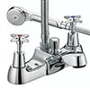 Bristan - Design Utility Crosshead Bath Shower Mixer - Chrome - VAX-BSM-C Medium Image