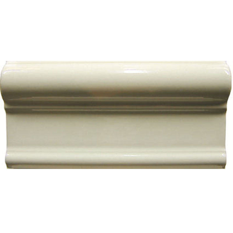 Cream Etruria Border Wall Tile - 152x76mm Large Image