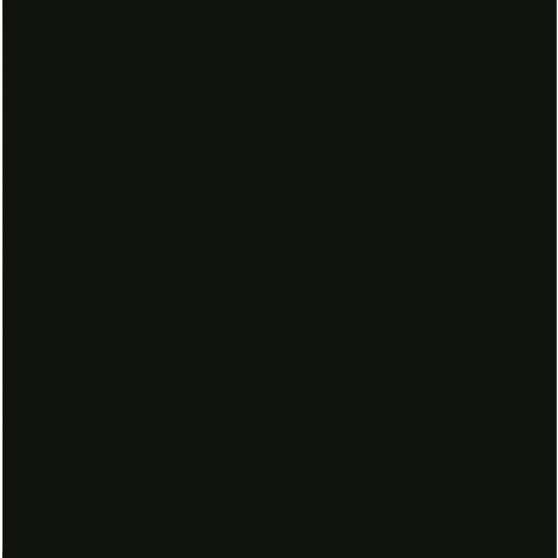 V Amp A 44 Black Plain Field Wall Tiles 152x152mm Va1004
