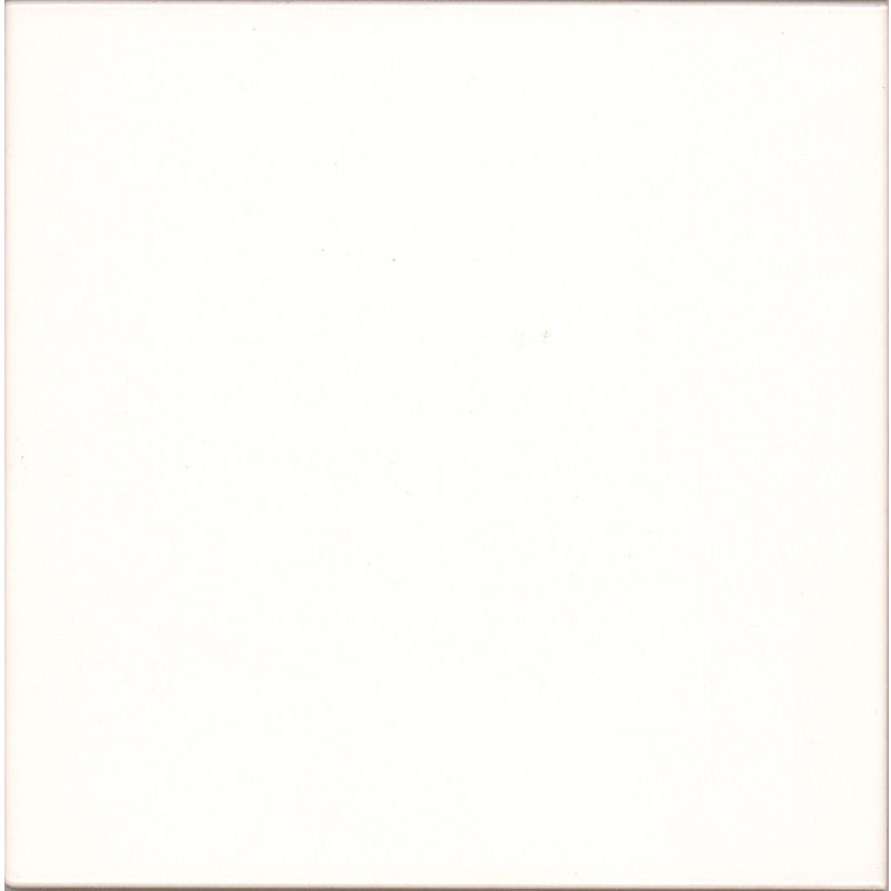 V Amp A 44 White Plain Field Wall Tiles 152x152mm Va1001