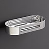 Venice Chrome 215mm Shower Basket profile small image view 1