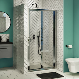 Bi Fold Shower Doors Folding Shower Door Victorian Plumbing