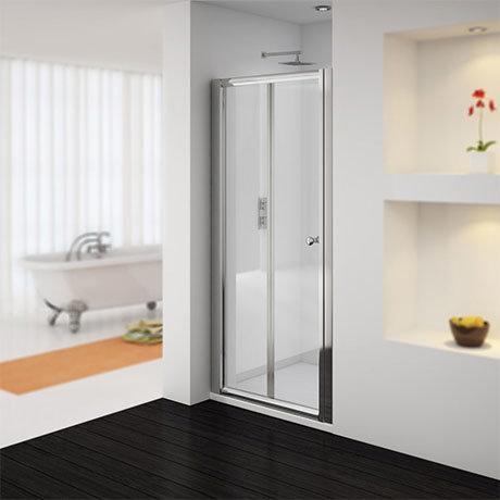 Newark Bi-Folding Shower Door - Various Sizes (Height - 1850mm)