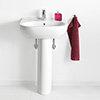 Villeroy and Boch O.novo 1TH Basin + Full Pedestal profile small image view 1