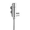 Ultra Vertical Minimalist Thermostatic Bar Shower Valve - VBS011 profile small image view 1
