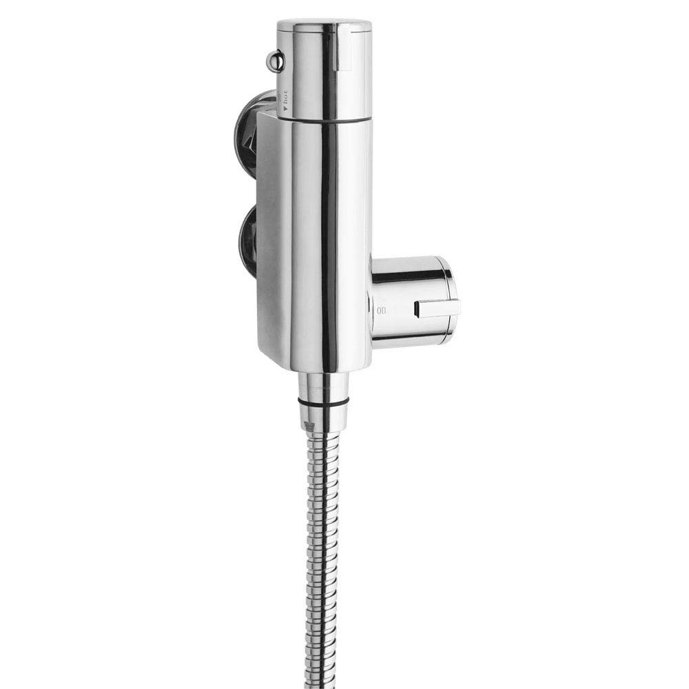 Ultra Vertical Thermostatic Space Saving Bar Shower Valve - VBS023 Large Image