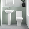 Venice Modern BTW 4-Piece Bathroom Suite profile small image view 1