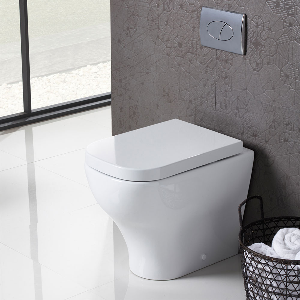 Roper Rhodes Version Back to Wall WC Pan & Soft Close Seat Profile Large Image