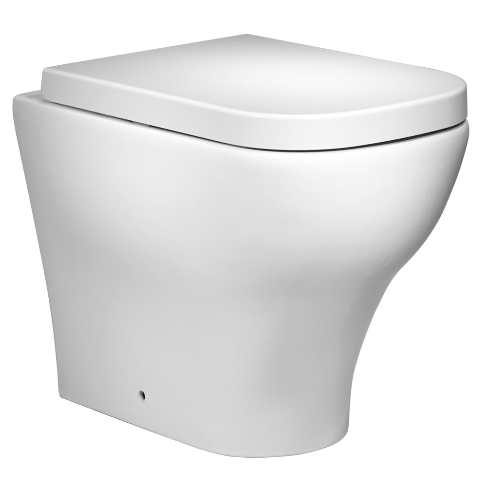 Roper Rhodes Version Back to Wall WC Pan & Soft Close Seat Large Image