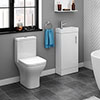 Venice Small Cloakroom Suite profile small image view 1