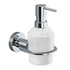 Venice Chrome Wall Mounted Soap Dispenser profile small image view 1