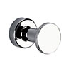 Venice Chrome Robe Hook profile small image view 1
