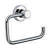Venice Chrome Toilet Roll Holder profile small image view 1