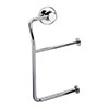 Venice Chrome Double Toilet Roll Holder profile small image view 1