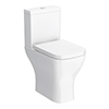 Venice Modern Comfort Height Toilet + Soft Close Seat profile small image view 1