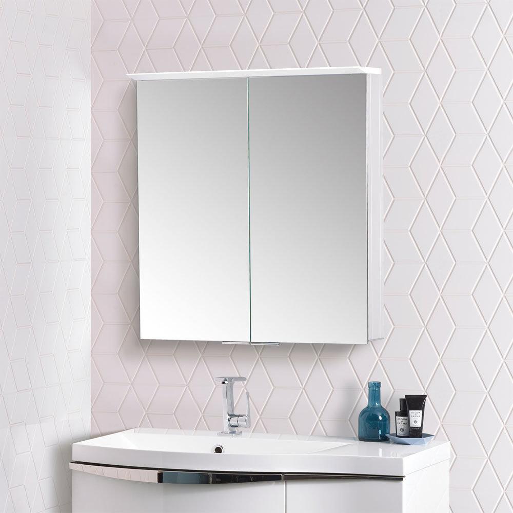 Roper Rhodes Venture Illuminated Mirror Cabinet - VE65AL profile large image view 4