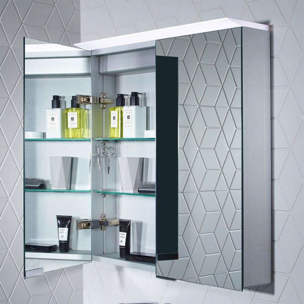 Roper Rhodes Venture Illuminated Mirror Cabinet - VE65AL profile large image view 5