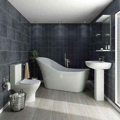 Vegas Modern Freestanding Bath Suite