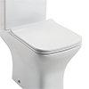 Venice Premium Slimline Soft Close Toilet Seat profile small image view 1