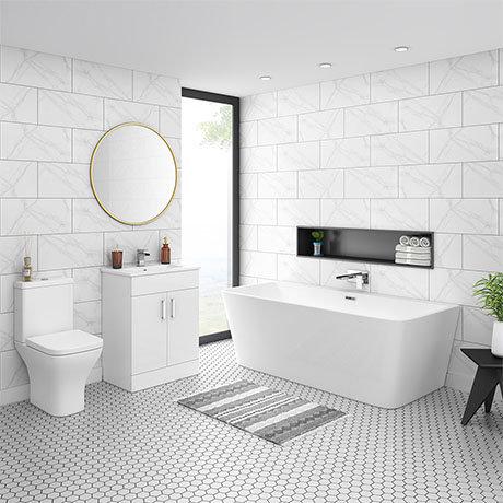 Venice BTW Free Standing Bath Suite