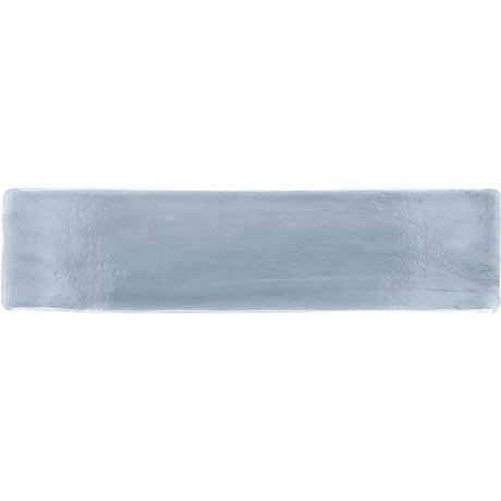 Vernon Rustic French Blue Gloss Ceramic Wall Tiles 75 x 300mm
