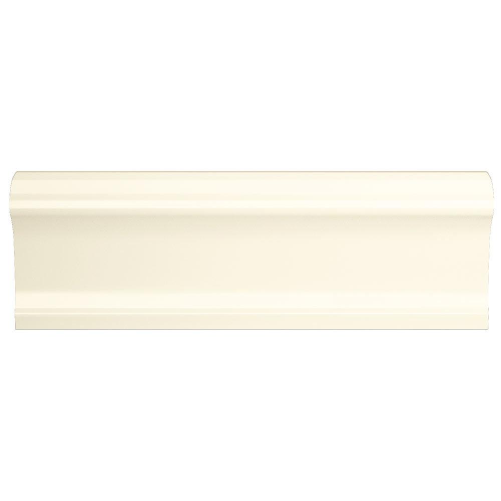 Vernon Rustic Ivory Gloss Border Tile 50 x 150mm