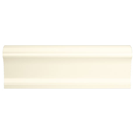 Vernon Rustic Ivory Gloss Border Tiles 50 x 150mm