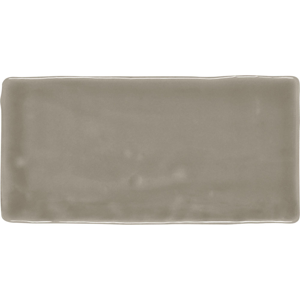 Vernon Rustic Mink Gloss Ceramic Wall Tiles 75 x 150mm Large Image