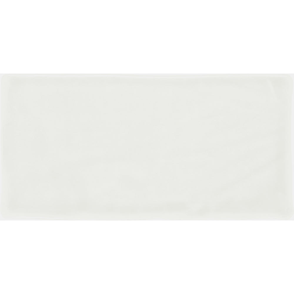 Vernon Rustic White Gloss Ceramic Wall Tiles 75 x 150mm Large Image
