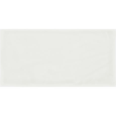 Vernon Rustic White Gloss Ceramic Wall Tiles 75 x 150mm