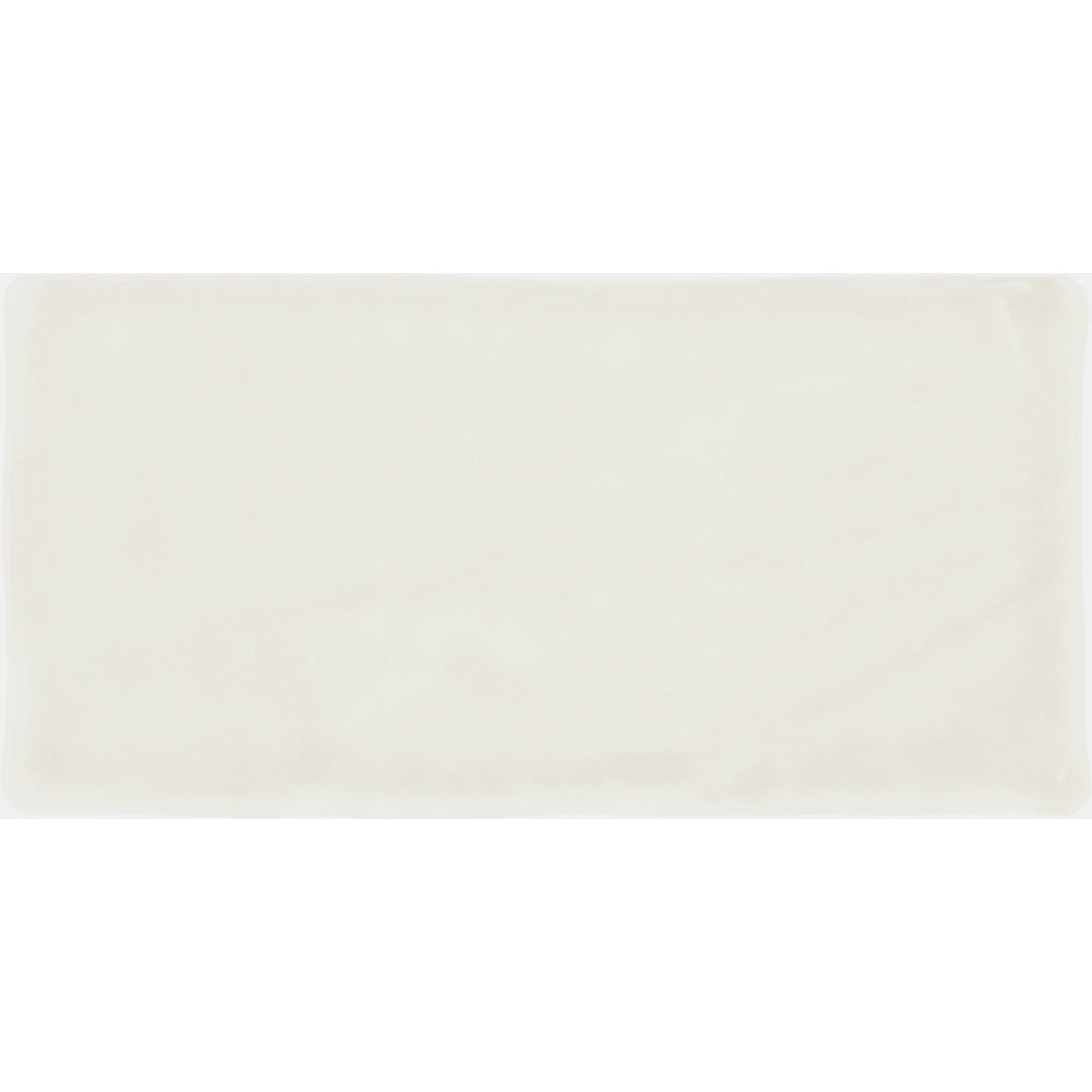 Vernon Rustic White Matt Ceramic Wall Tiles 75 x 150mm Large Image