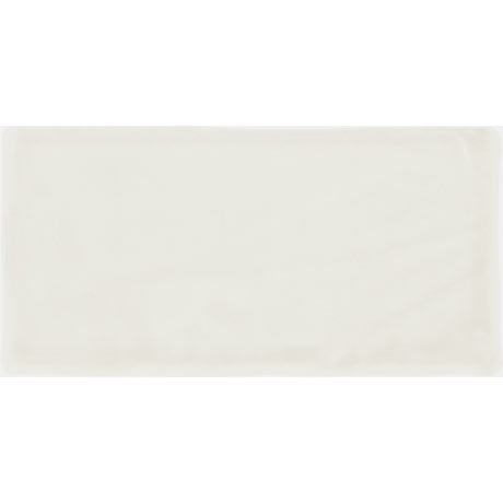 Vernon Rustic White Matt Ceramic Wall Tiles 75 x 150mm